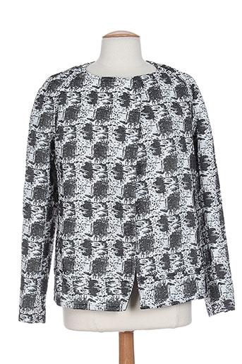 Veste casual gris BY ZOE pour femme