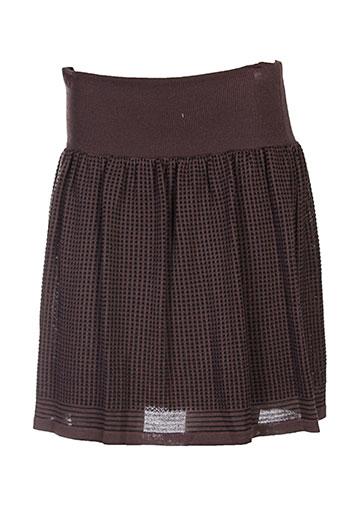 carlopik jupes femme de couleur marron