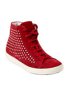 nimal chaussures femme de couleur rouge