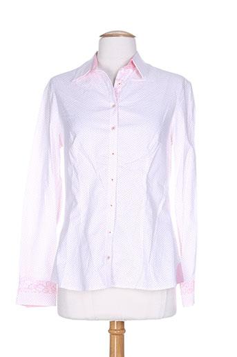 bariloche chemises femme de couleur rose