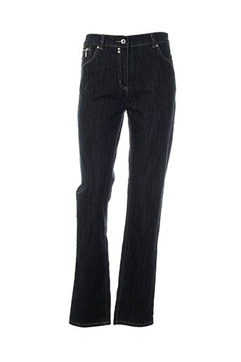 jensen jeans femme de couleur bleu