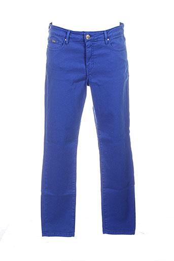 islow pantalons et decontractes femme de couleur bleu