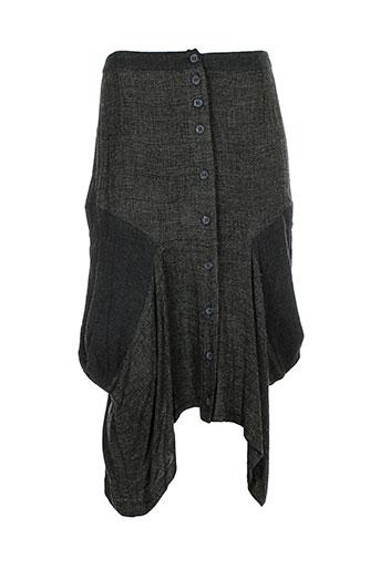 cannisse jupes femme de couleur gris