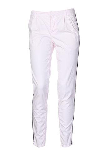 set pantalons femme de couleur rose