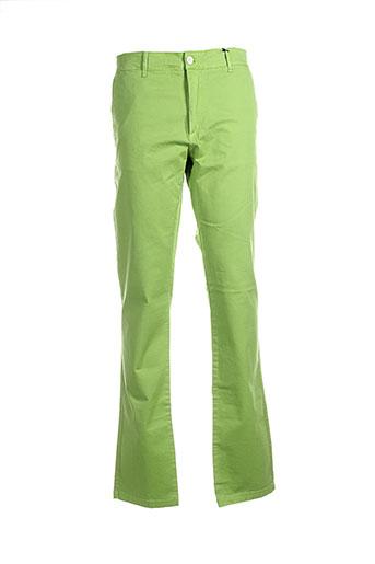 scapa pantalons homme de couleur vert