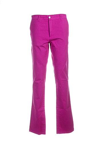 scapa pantalons homme de couleur rose