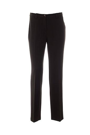 carole richard pantalons femme de couleur marron