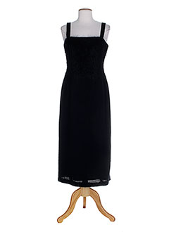 Robe longue noir HELENA SOREL pour femme