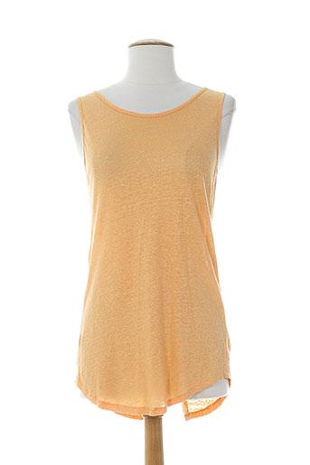 not shy pulls femme de couleur orange