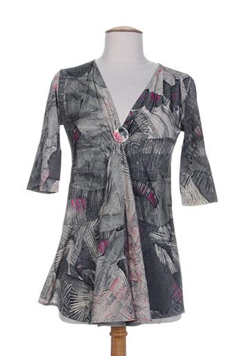 legatte t-shirts femme de couleur gris