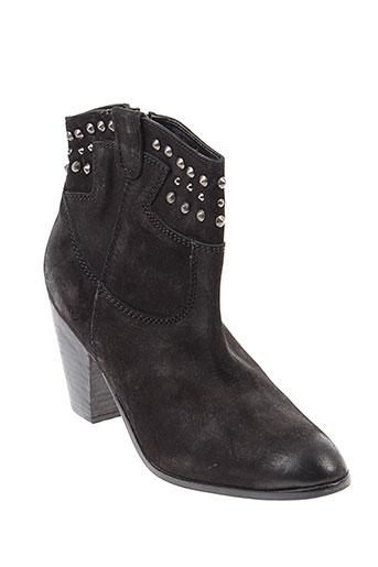 lola et cruz boots femme de couleur noir