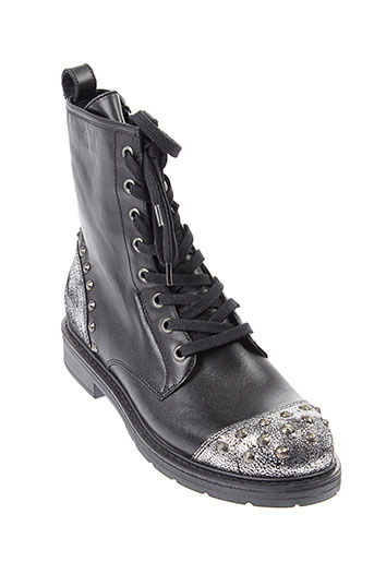 janet et janet boots femme de couleur noir
