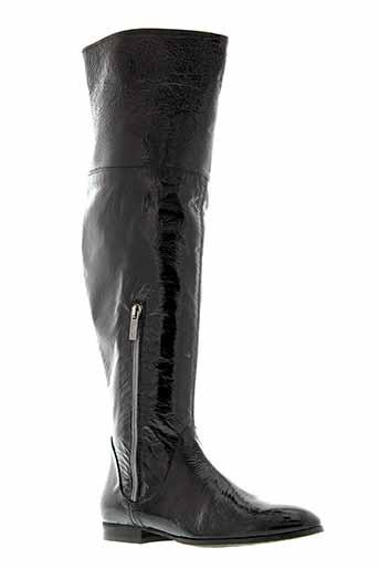 zinda bottes femme de couleur noir