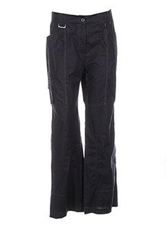 Pantalon casual noir GARELLA pour femme