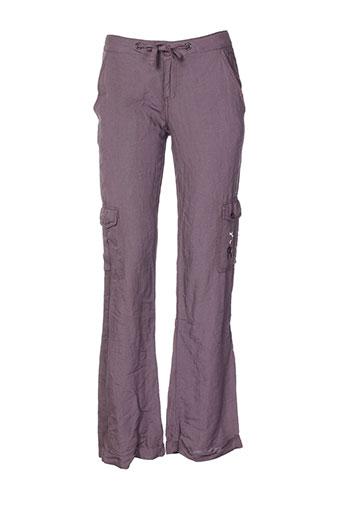 lola et espeleta pantalons et decontractes femme de couleur violet