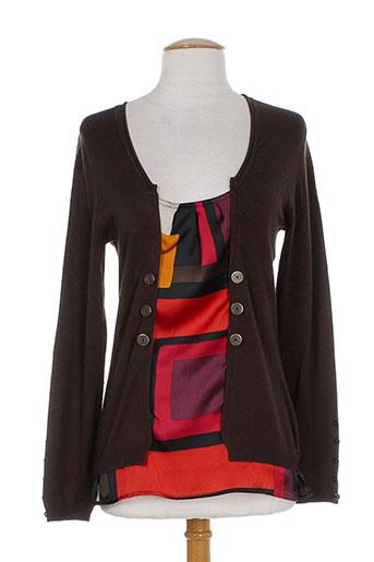 perspectives chemises femme de couleur marron