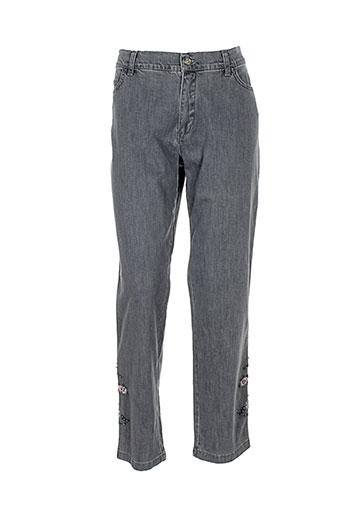 aqua jeans femme de couleur gris