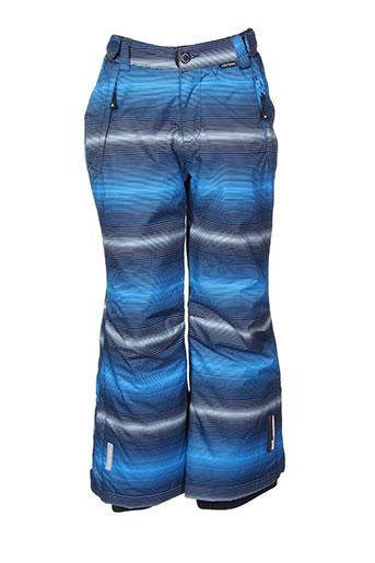 icepeak pantalons et decontractes enfant de couleur bleu