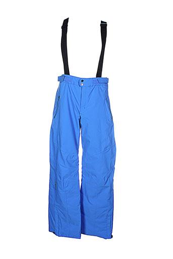 goldwin pantalons homme de couleur bleu