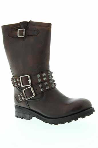 osmose bottes femme de couleur marron