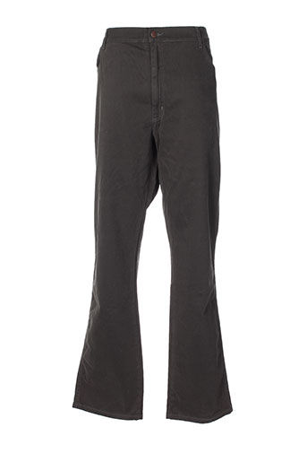 wrangler pantalons et decontractes homme de couleur marron