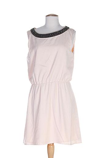 ankorel robes femme de couleur rose