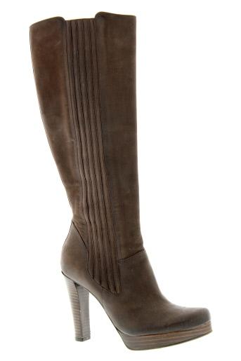 free et lance bottes femme de couleur marron