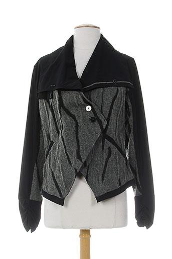 cassiopee vestes femme de couleur gris
