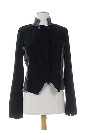 cassiopee vestes femme de couleur noir