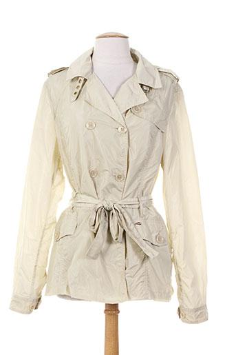 gaudi manteaux femme de couleur beige