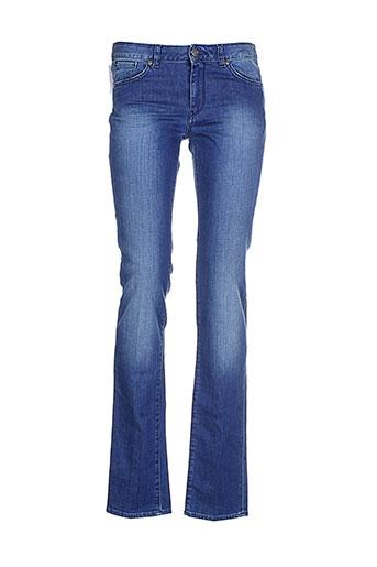 renhsen jeans femme de couleur bleu