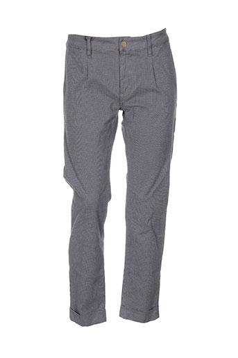 true nyc pantalons homme de couleur gris