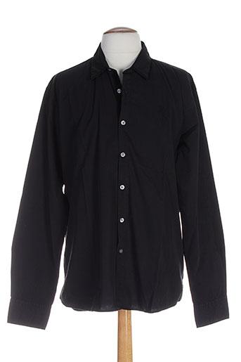 edween pearson chemises homme de couleur noir