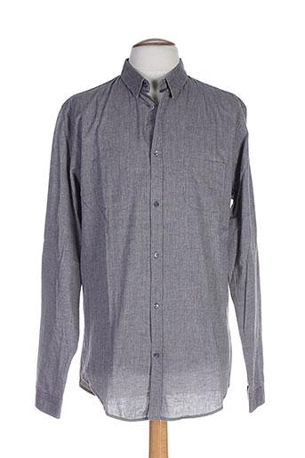 memento clothing chemises homme de couleur gris