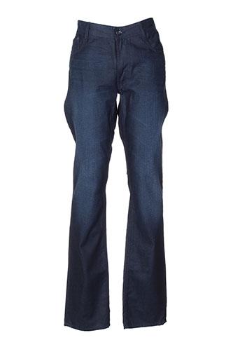 atelier oscar jeans homme de couleur bleu