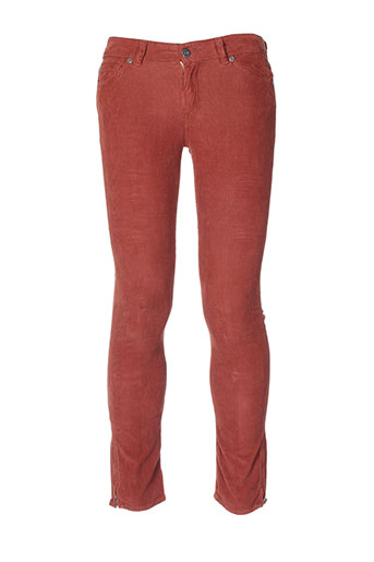 renhsen pantalons homme de couleur marron