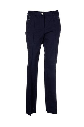 mafecco pantalons et citadins femme de couleur bleu