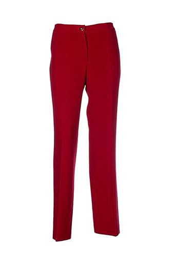 mafecco pantalons et citadins femme de couleur rouge