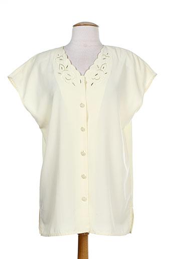 markwald chemises femme de couleur beige