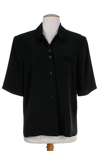 markwald chemises femme de couleur noir