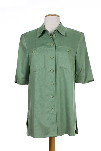 markwald chemises femme de couleur vert