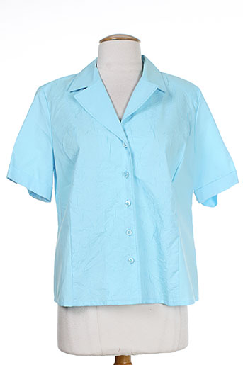sommermann chemises femme de couleur bleu