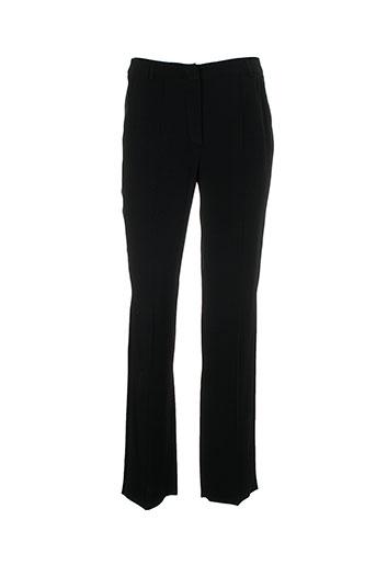 vera mont pantalons femme de couleur noir