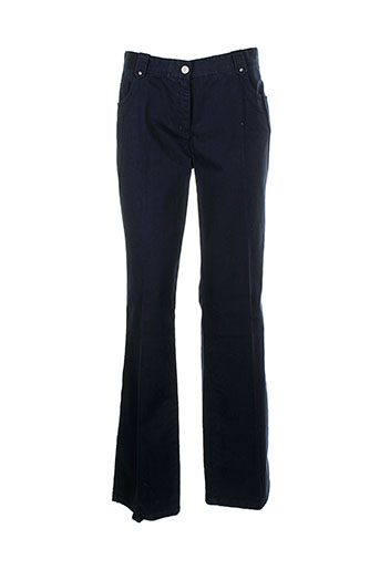 apriori pantalons femme de couleur bleu
