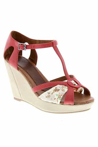 one step chaussures femme de couleur rouge