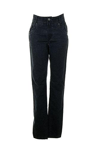 summum pantalons femme de couleur bleu