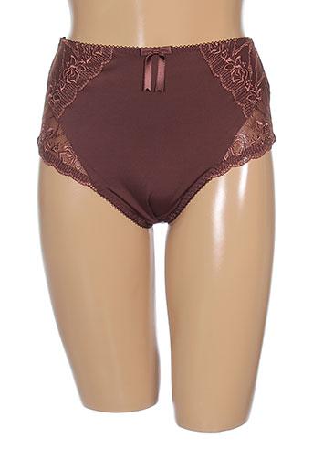 elomi shortys et boxers femme de couleur marron