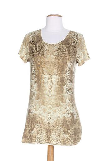 marlboro classics t et shirts et tops femme de couleur beige