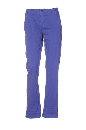le et petit et baigneur pantalons et decontractes femme de couleur violet