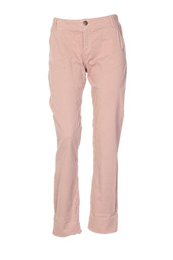 le et petit et baigneur pantalons et decontractes femme de couleur beige